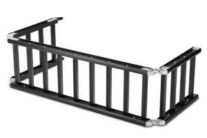 ReadyRamp-I-Beam-Full-Sized-Bed-Extender-Ramp-Black-100-Open-60-on-Truck-B00BB0TGS0